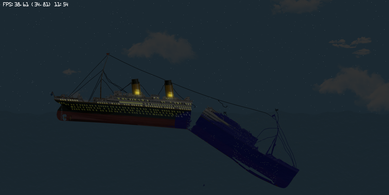 R.M.S._Titanic_With_Lights_-_by_Gabriele_GiuseppiniMichael_Bozarth_20190401_133743_827