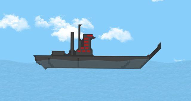 Fire Navy Warship